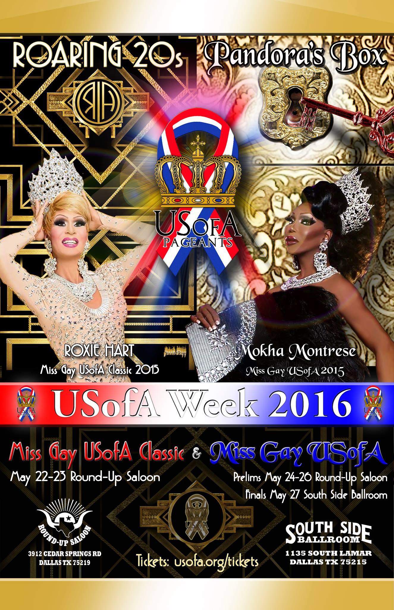 Show Ad | Miss Gay USofA Classic and Miss Gay USofA | Dallas, Texas | 5/22-5/27