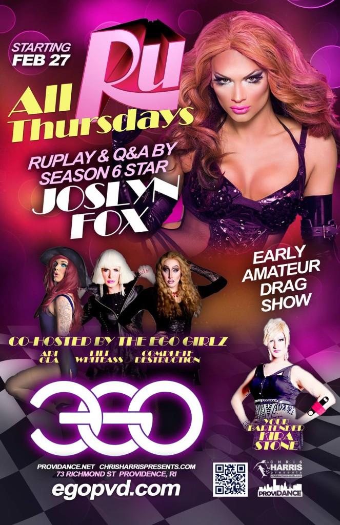 Show Ad | Ego (Providence, Rhode Island) | 2/27/2014