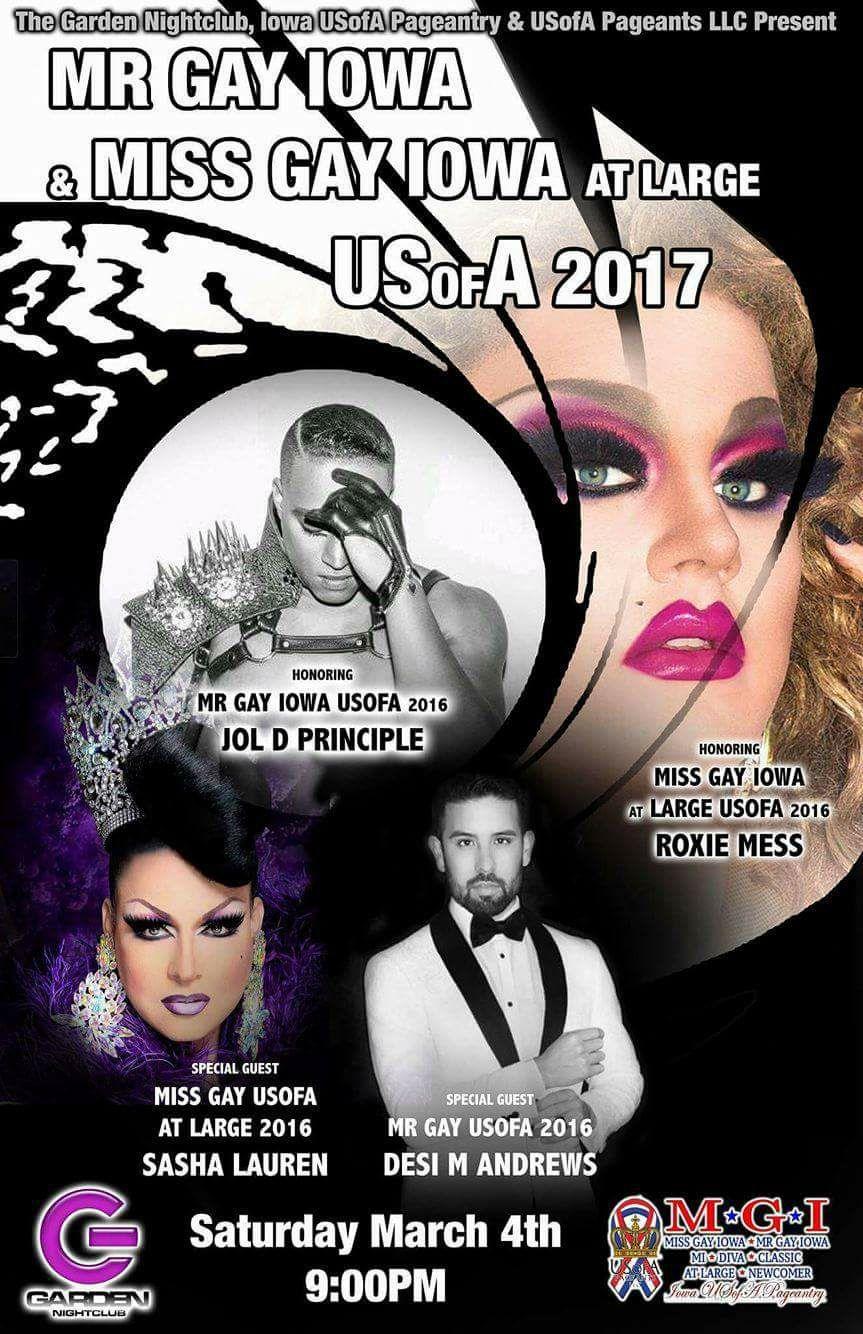 Show Ad   Garden Night Club (Des Moines, Iowa)   3/4/2017