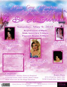 Show Ad | Miss Gay Monroe America | Pink (Monroe, Louisiana) | 5/9/2015