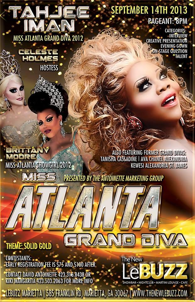 Show Ad   Miss Atlanta Grand Diva   The New LeBuzz (Marietta, Georgia)   9/14/2013