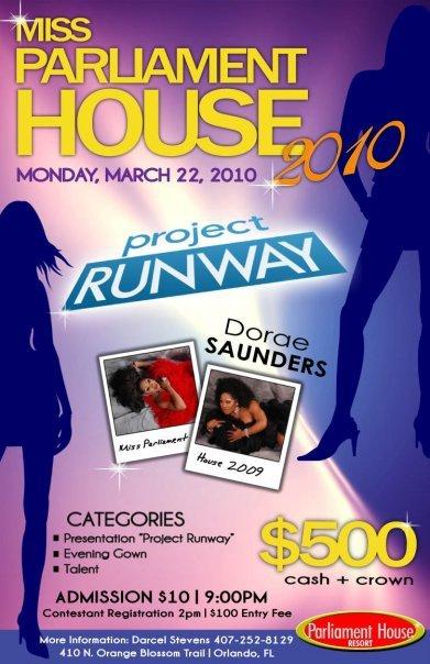 Show Ad | MIss Parliament House | Parliament House (Orlando, Florida) | 3/22/2010