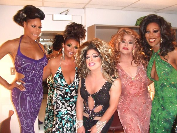 Necole Luv Dupree, Maya Douglas, Nina DiAngelo, Electra and Tasha Long