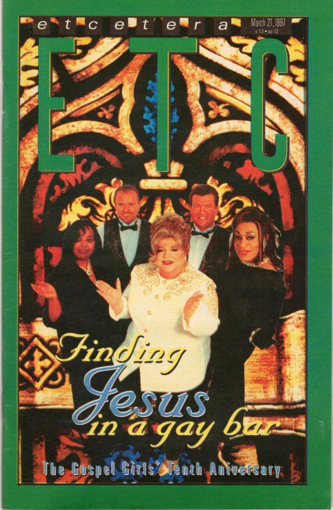 Morticia DeVille and the Gospel Girls
