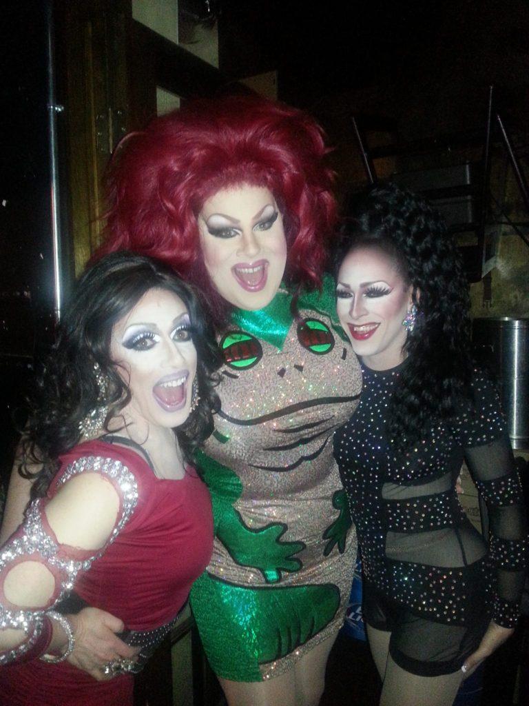 Mary Nolan, Nina West and Mari Jane