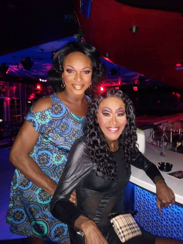 Domanique Shappelle and Misty Knight