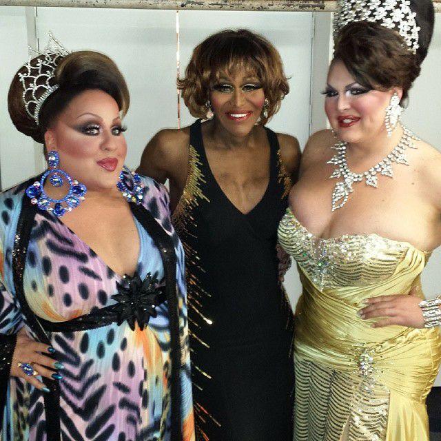 Mercedes Tyler, Misty Knight and Danielle DeLong