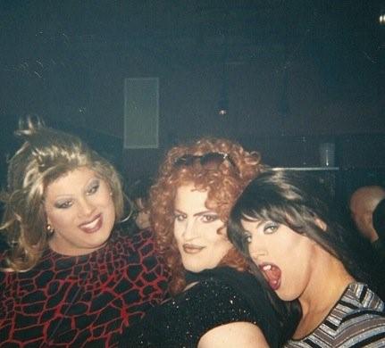 Nina West, Freeta Lay and Ashley O'Shea at Union Station (Columbus, Ohio) in 2001.