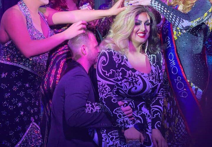 Scarlett Kelly being crowned   Miss Gay Heart of Ohio America   Boscoe's (Columbus, Ohio)   1/11/2020