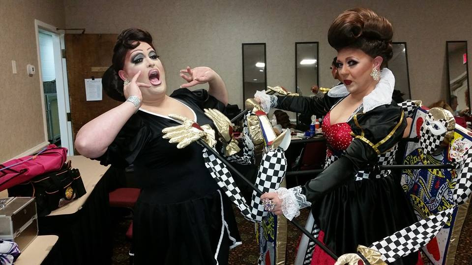 Alexis Stevens and Britney Blaire   Miss Gay America   Millennium Maxwell House Hotel (Nashville, Tennessee)   10/8-10/12/2014