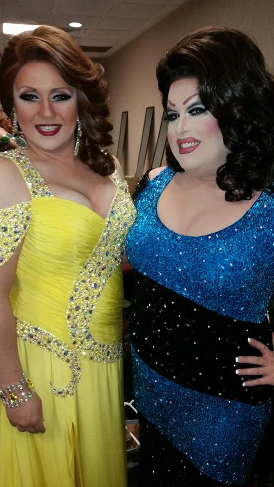 Britney Blaire and Alexis Stevens   Miss Gay America   Millennium Maxwell House Hotel (Nashville, Tennessee)   10/8-10/12/2014