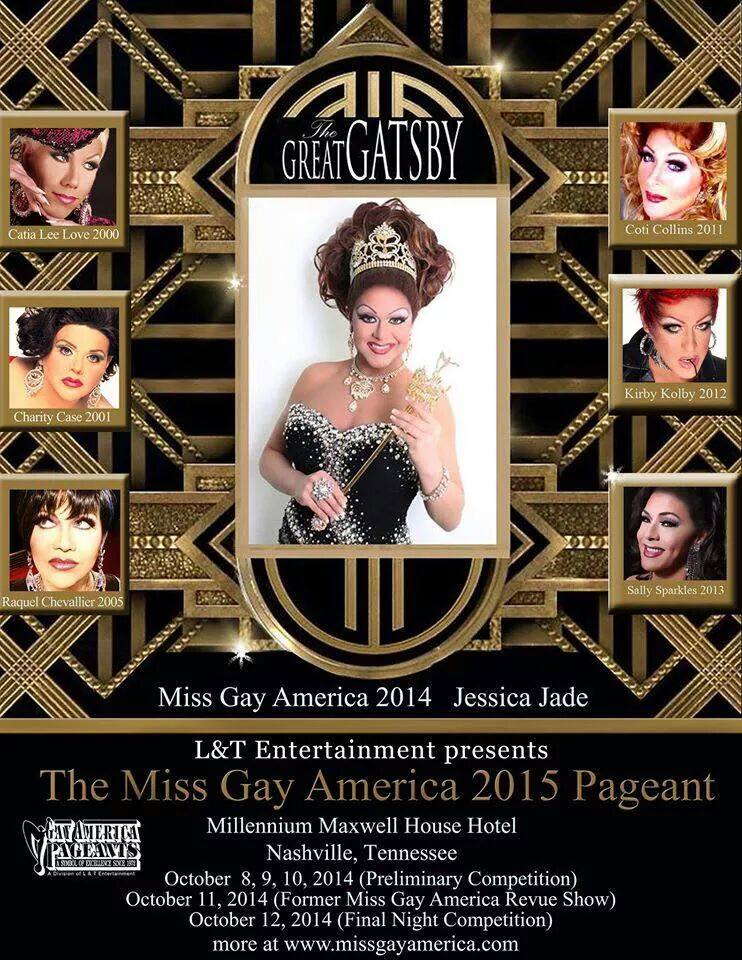 Ad   Miss Gay America   Millennium Maxwell House Hotel (Nashville, Tennessee)   10/8-10/12/2014