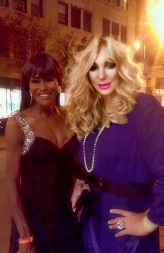 Misty Knight and Jennifer Ryan in Chicago, Illinois at the 2014 Miss Continental Pageant