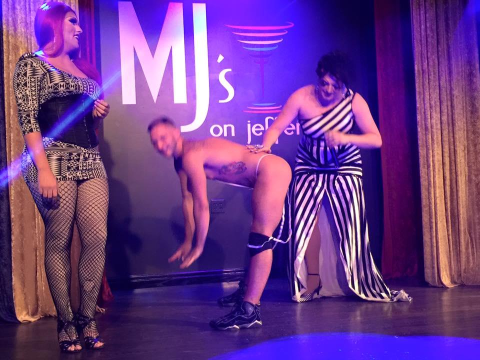 Kisha Summers, Brock Bradly and Amanda Sue Punchfuk  | MJ's on Jefferson (Dayton, Ohio) | July 2015
