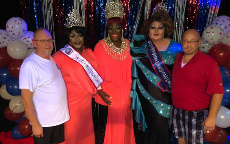 Het Vinson, Daray Lorez, Moltyn Decadence, Trista Storm and Ernest Morrison | Miss Gay West Virginia United States at Large and Icon | Broadway (Charleston, West Virginia) | 7/19/2019