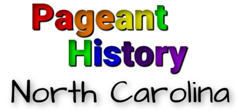 North Carolina Pageant History