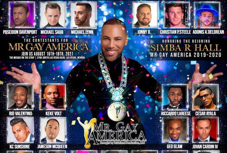 Ad | Mr. Gay America | The Mosaic on the Strip (Las Vegas, Nevada) | 8/16-8/18/2021