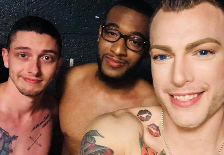 Darwyn Decardeza, Dakota Banks and Gunner Scout at Stonewall Nightclub (Huntington, West Virginia) | June 2018