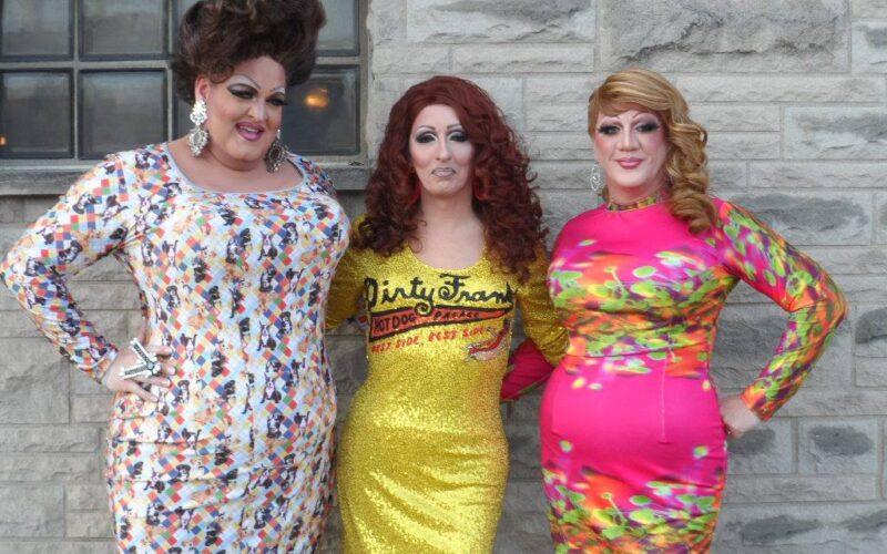 Vivian Von Brokenhymen, Samantha Rollins and Hellin Bedd   Queens 4 Paws   Dirty Frank's West (Columbus, Ohio)   8/15/2014