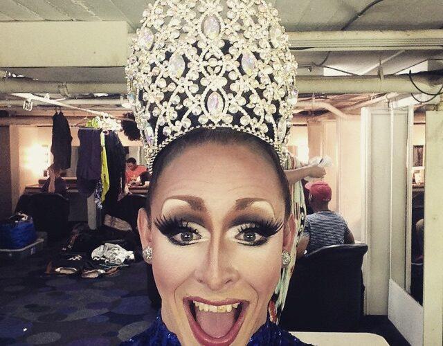Mari Jane after capturing the crown at Miss Masque   Masque (Dayton, Ohio)   4/9-4/11/2015