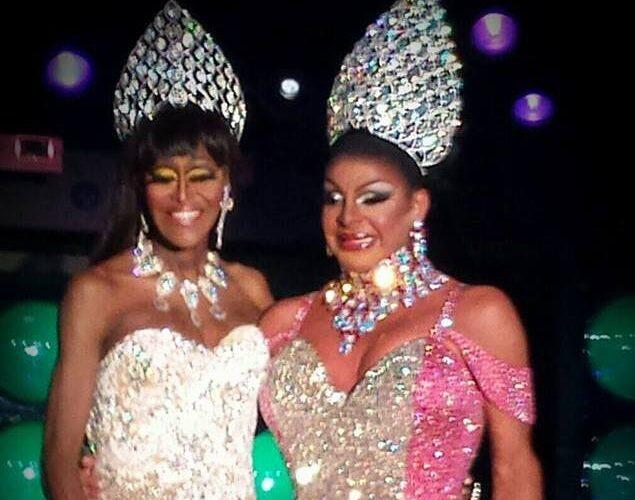 Misty Knight and Maria Garrison at Miss Masque | Masque (Dayton, Ohio) | 4/3-4/5/2014