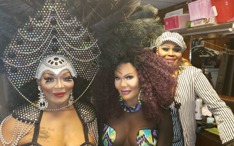 Tracie Lords, Bianca Debonair and Bianca Bouvier at Daddy's (Columbus, Ohio)   June 2021