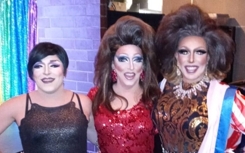 Mari Jane, Samantha Rollins and Valerie Taylor at Union Cafe (Columbus) | July 2021 CROPPED
