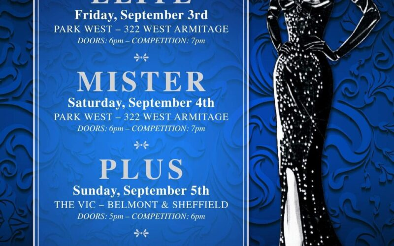 Ad | Miss Continental Elite, Mr. Continental, Miss Continental Plus and Miss Continental | Park West and The Vic (Chicago, Illinois) | 9/3-9/6/2021