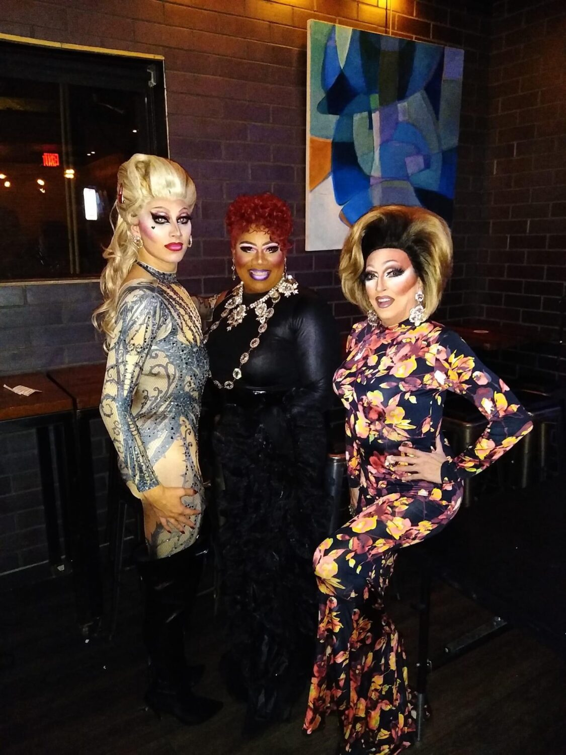 Blonde Vanity, Vee Love and Samantha Rollins at Union Cafe (Columbus, Ohio) | September 2021