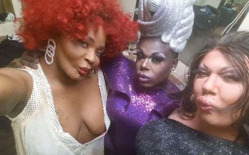 Tracie Lords, Cherri Poppins and Cierra Nicole at Southbend Tavern (Columbus, Ohio) | February 2016