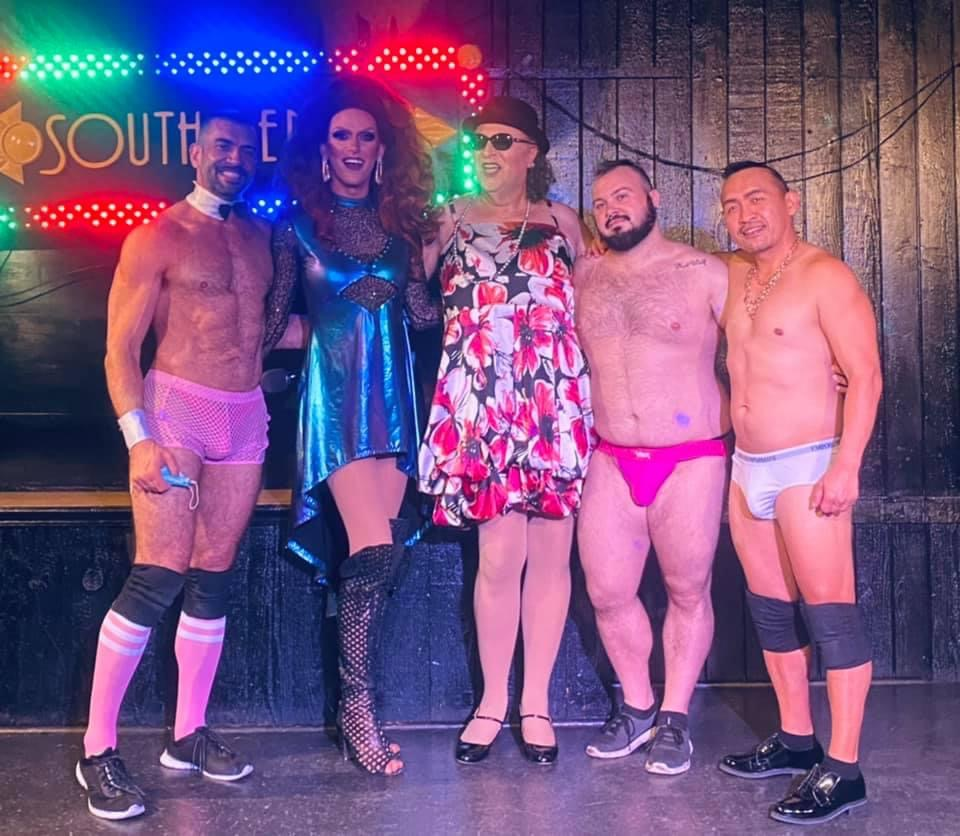 Michah, Jennifer Lynn Ali, Stella, Dean Gauge and Zander Chang at Southbend Tavern (Columbus, Ohio) | September 2021
