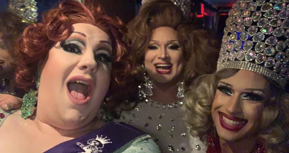 Ida Carolina, Edna D. Mascará and Sweet T at Miss Midwest Comedy Queen | Axis Nightclub (Columbus, Ohio) | 9/11/2021
