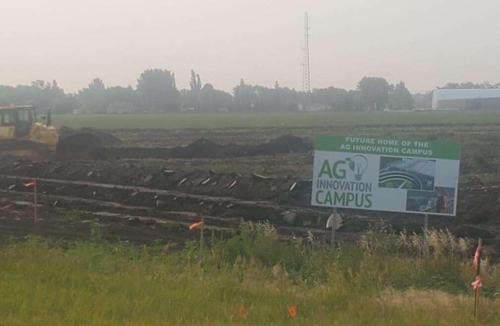 Dirt Work: Ag Innovation Campus Construction Begins
