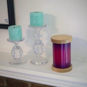 Dignity Series Pet Urn in Pink Glitter