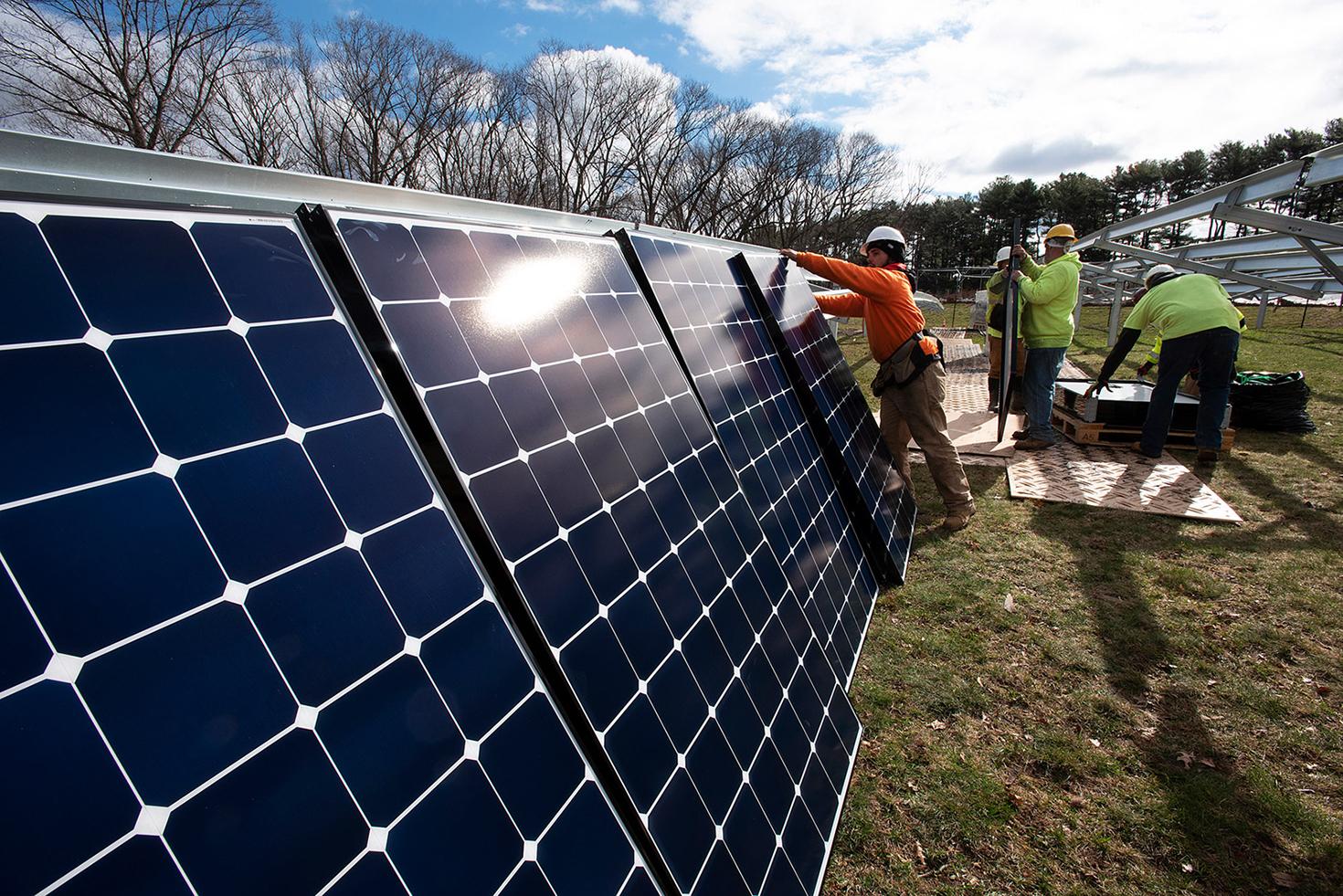 Arboretum Gets a Solar Boost