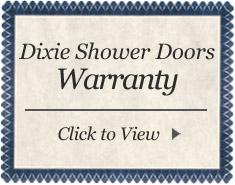 dixie shower doors warranty