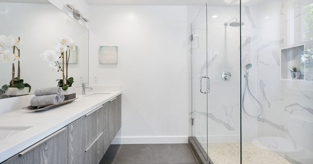 frameless shower door near orlando