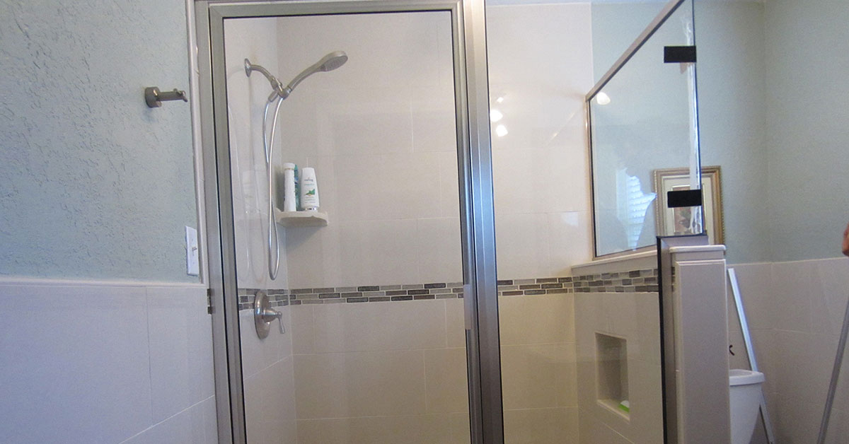 shower doors near volusia county
