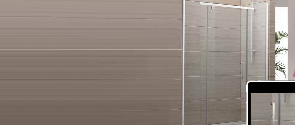 Frameless Shower Slider