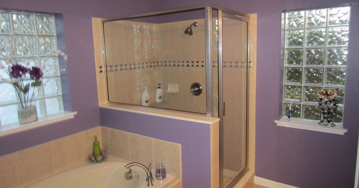 Frameless shower doors in volusia county