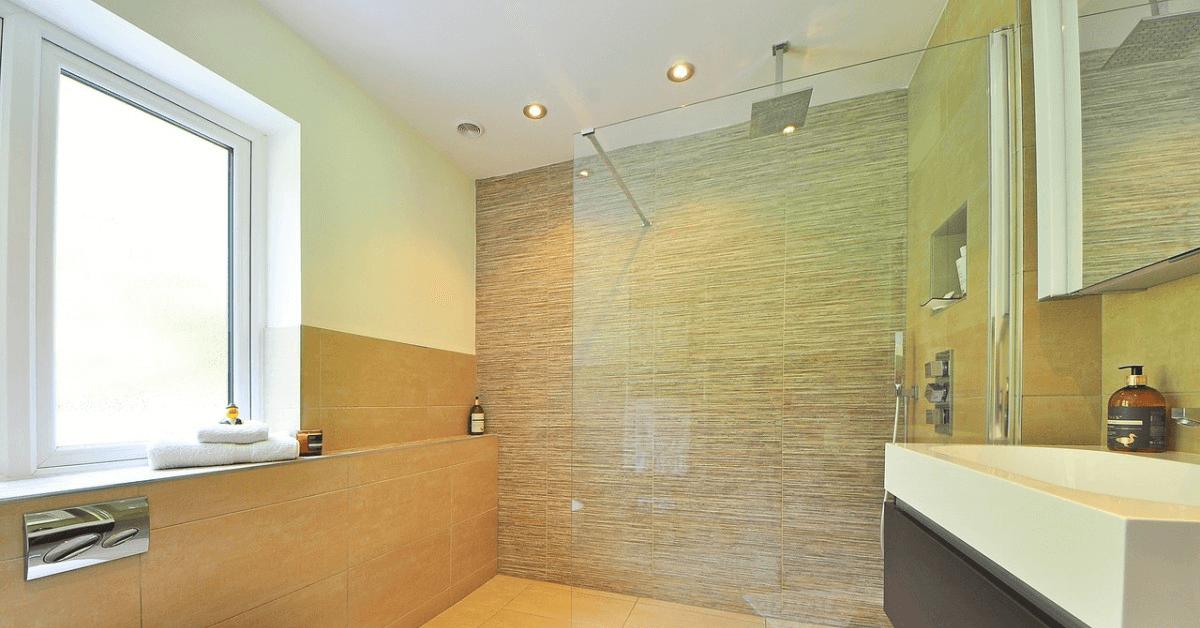 shower door installation at Orlando