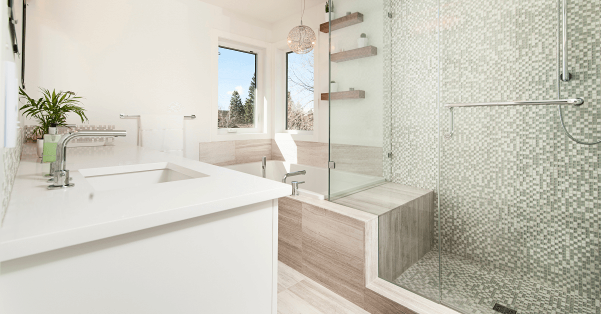 shower installation cost near Volusia County