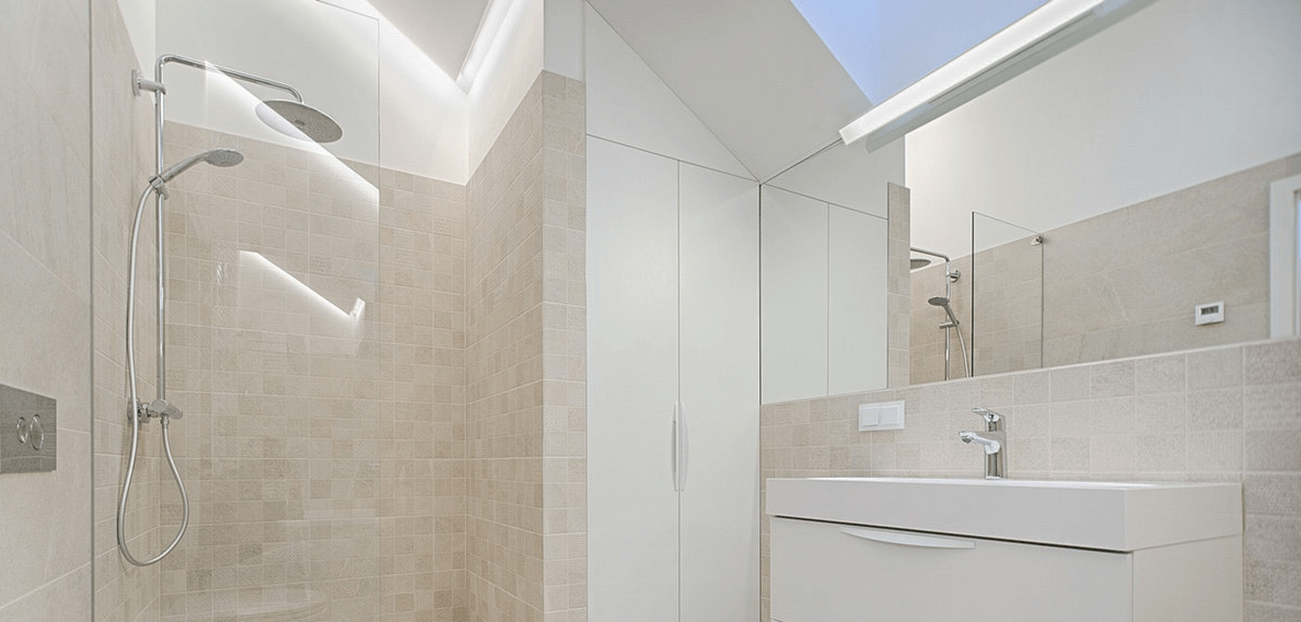 walk-in shower near Orlando
