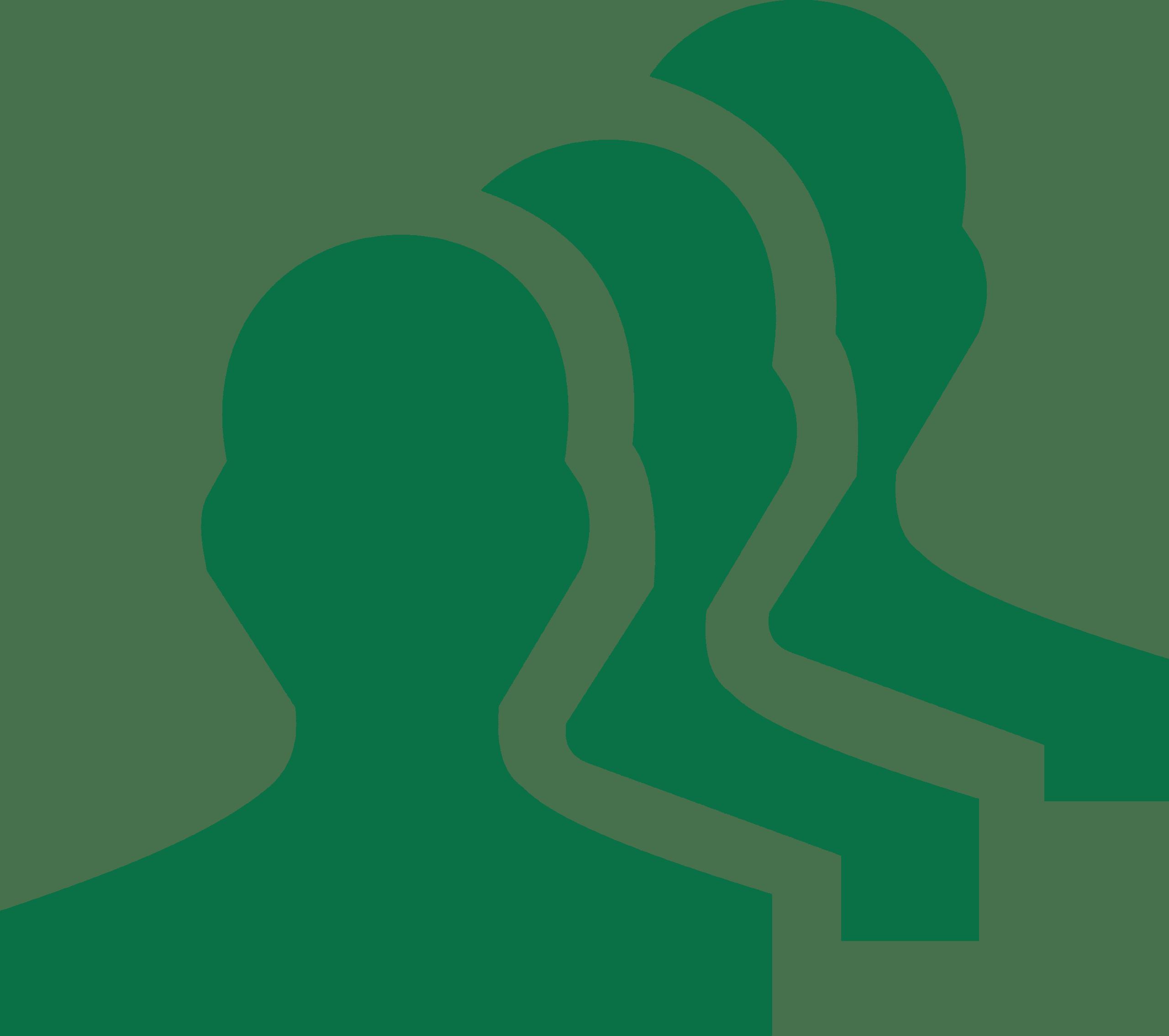 AccountStaff Staff & Senior accountants Graphic - graphic of three people