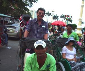 Phnom Penh cyclo tour, Henryk pedling