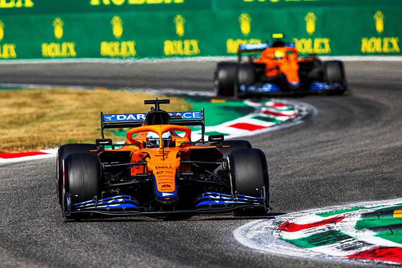 McLaren faz 1º e 2º no GP da Itália de F-1