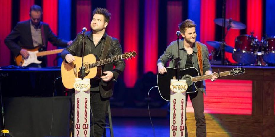 The Swon Brothers Opry Debut Photo By Chris Hollo - CountryMusicRocks.net