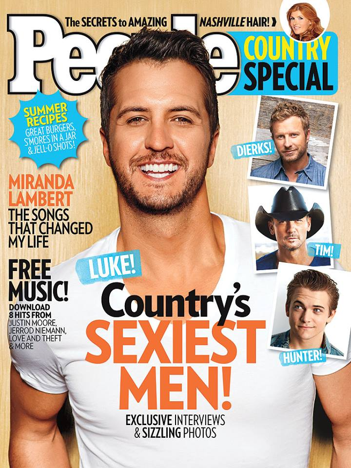 Luke Bryan People Country Magazine - CountryMusicRocks.net