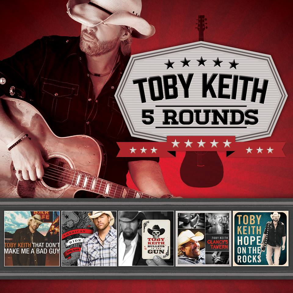 Toby Keith 5 Rounds - CountryMusicRocks.net