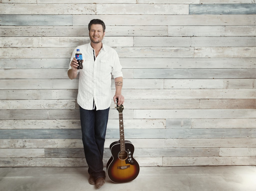 Blake Shelton Pepsi - CountryMusicRocks.net